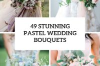 49 stunning pastel wedding bouquets cover