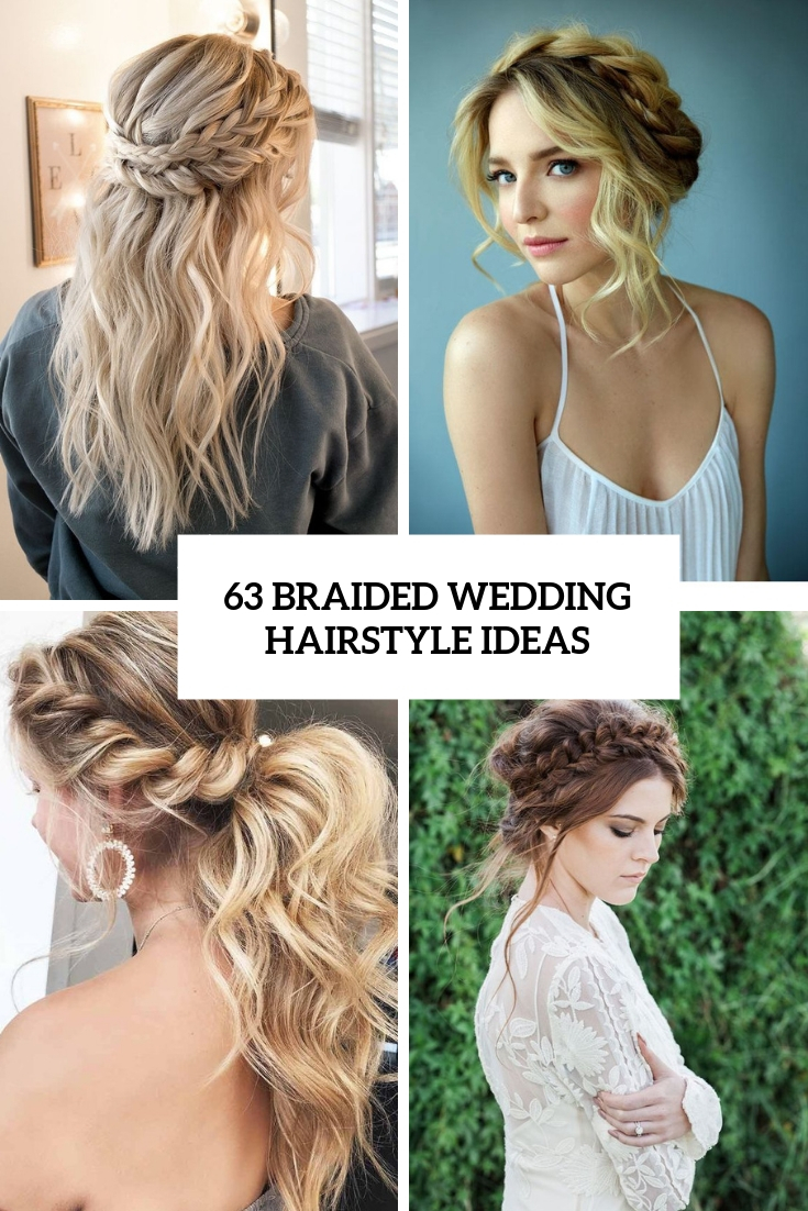 braided wedding hairstyle ideas cover