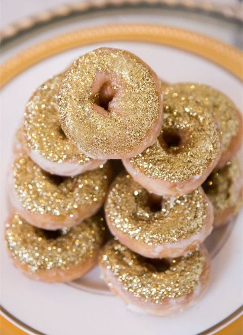 glitter donuts looks much more stylish than usual ones
