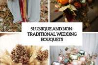 51 unique and non-traditional wedding bouquets cover