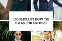 100 elegant bow tie ideas for grooms cover