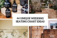 44 unique wedding seating chart ideas cover