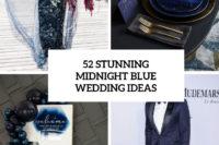 52 stunning midnight blue wedding ideas cover