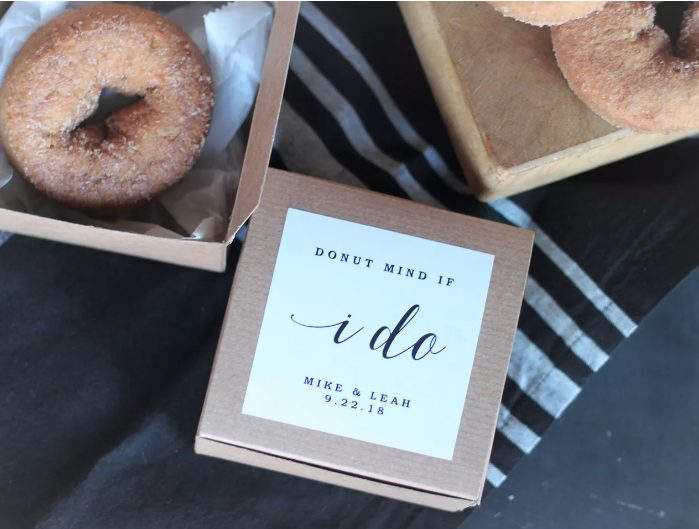 individually packed cider donuts are amazing autumn snacks and you may order these mouthwatering trears from a local bakery to support the business