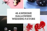 48 awesome halloween wedding favors cover
