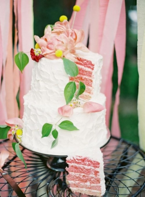 The Hottest 2014 Wedding Trend: 27 Yummy Buttercream Cakes