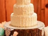 2014 Wedding Trend Alert 27 Yummy Buttercream Cakes