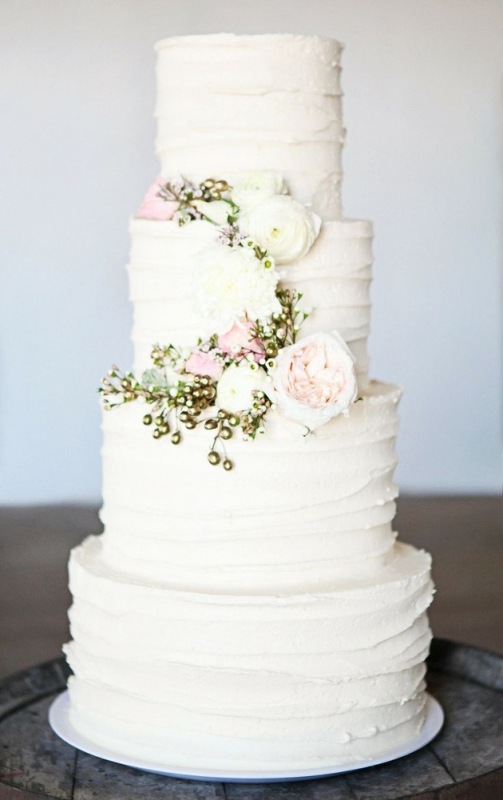 2014 Wedding Trend Alert 27 Yummy Buttercream Cakes