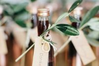 classic schnapps nicely presented with sage and copper add value to the look
