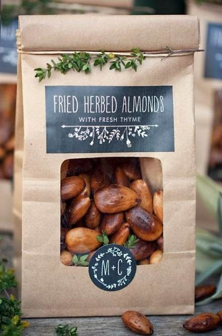 fried herbed almonds are always a good and tasty idea that will be loved by everyone