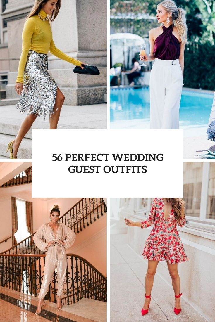 56 Perfect Wedding Guest Outfits