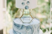 a cute unique wedding cake
