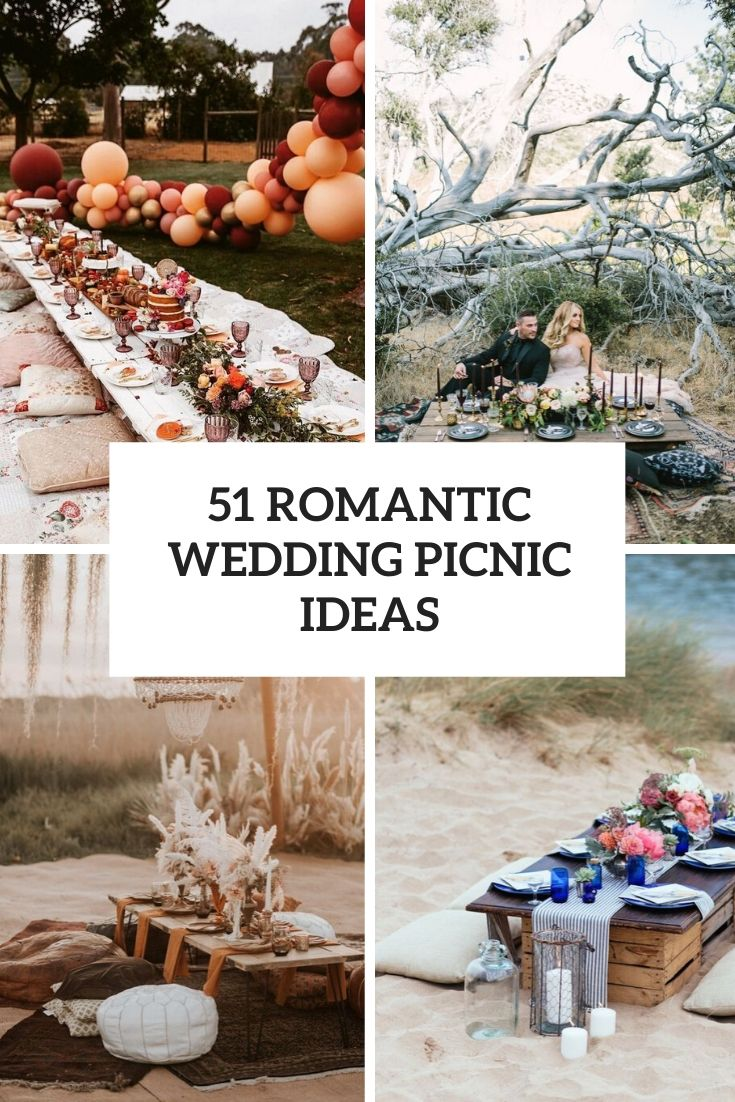 51 Romantic Wedding Picnic Ideas