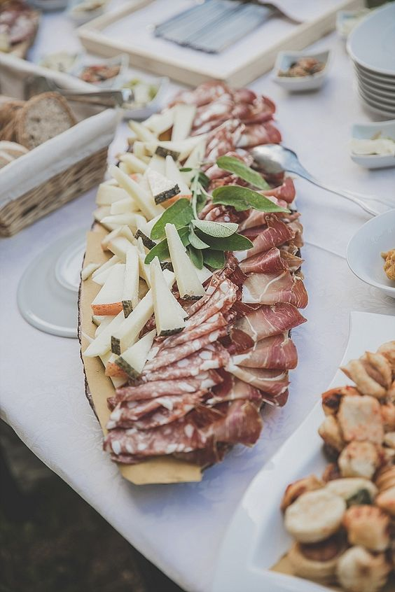 offer delicious cheese and meat of local vendors to excite your guests
