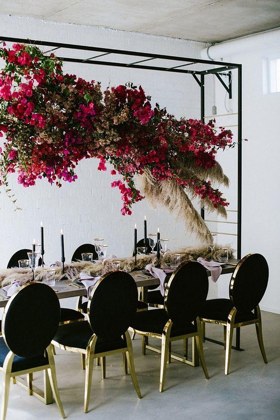 53 Gorgeous Hanging Flower And Greenery Decor Ideas Weddingomania
