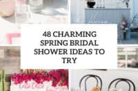 48 charming spring bridal shower ideas to try cover