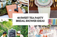48 sweet tea party bridal shower ideas cover
