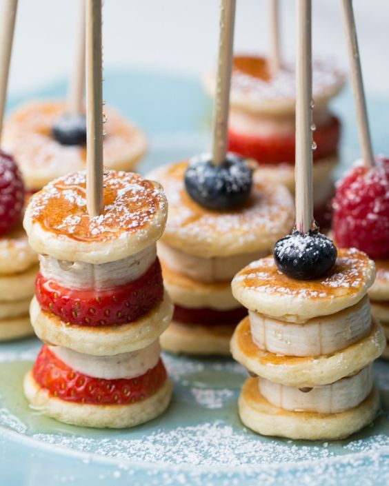 Fall Wedding Finger Foods: 60 Sweet Wedding Finger Food Ideas And Mini Desserts