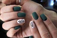 cool nails for a fall wedding