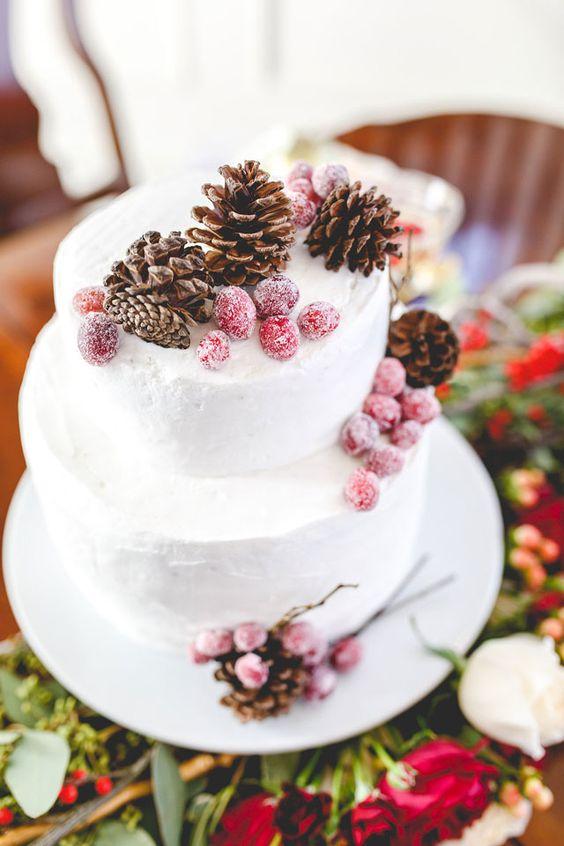 a trendy buttercream wedding cake design