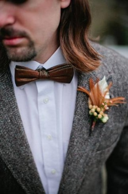 Picture Of Awesome Ideas Of Using Leather At Your Wedding 10