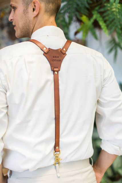 Picture Of Awesome Ideas Of Using Leather At Your Wedding 14