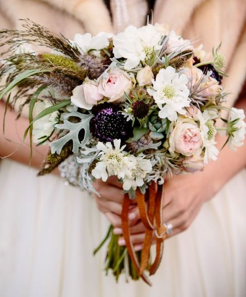Picture Of Awesome Ideas Of Using Leather At Your Wedding 18