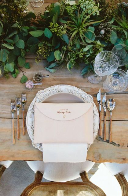 Picture Of Awesome Ideas Of Using Leather At Your Wedding 2