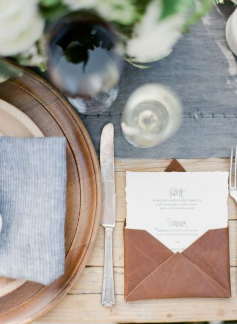 Picture Of Awesome Ideas Of Using Leather At Your Wedding 20
