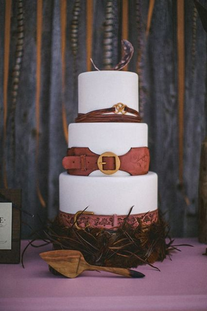 Picture Of Awesome Ideas Of Using Leather At Your Wedding 22