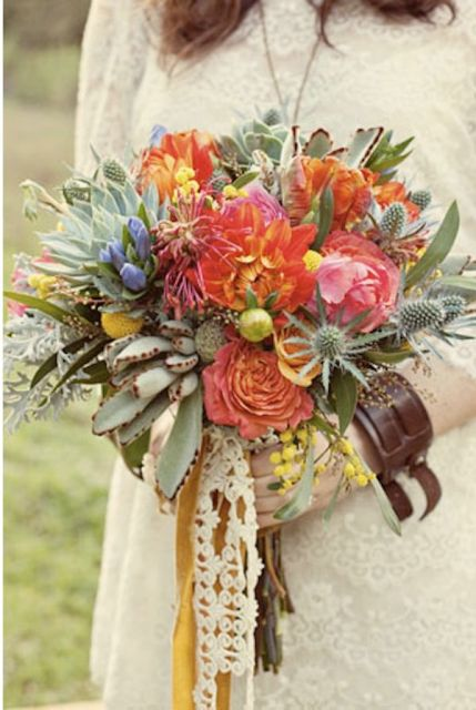 Awesome Ideas Of Using Leather At Your Wedding