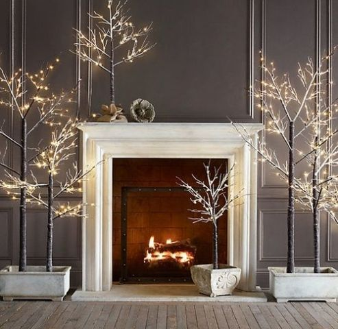Fireplace Walls Ideas Adorable 22 Cozy Fireplace Décor Ideas For Your Big Day  Weddingomania Decorating Inspiration