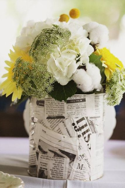 Unusual Newspaper Ideas For Your Wedding