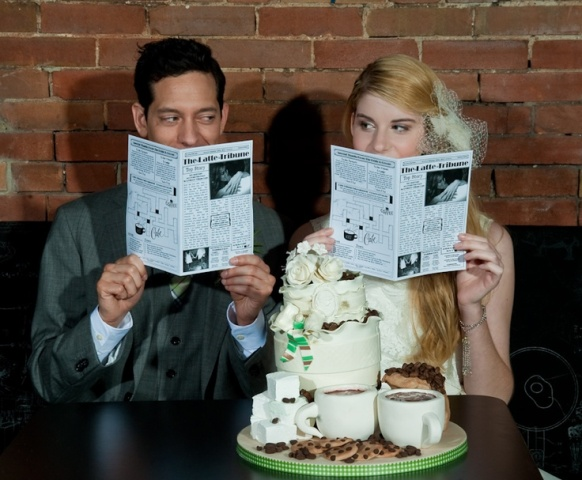 Picture Of Unusual Newspaper Ideas For Your Wedding 21