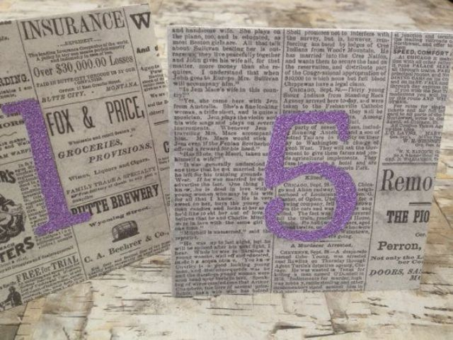 Picture Of Unusual Newspaper Ideas For Your Wedding 24