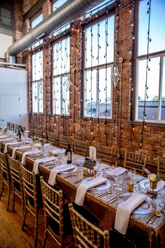 26 Beautiful Industrial Inspired Wedding Tables