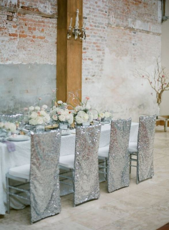 Beautiful Industrial Inspired Wedding Tables