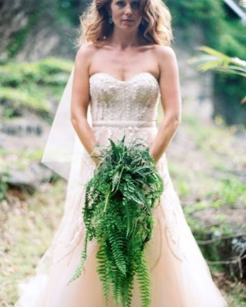 Picture Of Elegant Ways To Incorporate Ferns Into Your Wedding 18