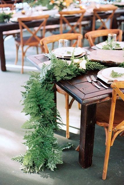 Picture Of Elegant Ways To Incorporate Ferns Into Your Wedding 28