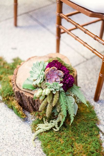Picture Of Elegant Ways To Incorporate Ferns Into Your Wedding 29