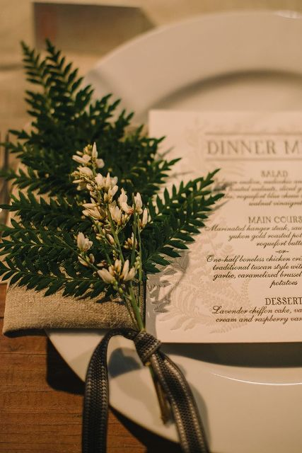 Picture Of Elegant Ways To Incorporate Ferns Into Your Wedding 5