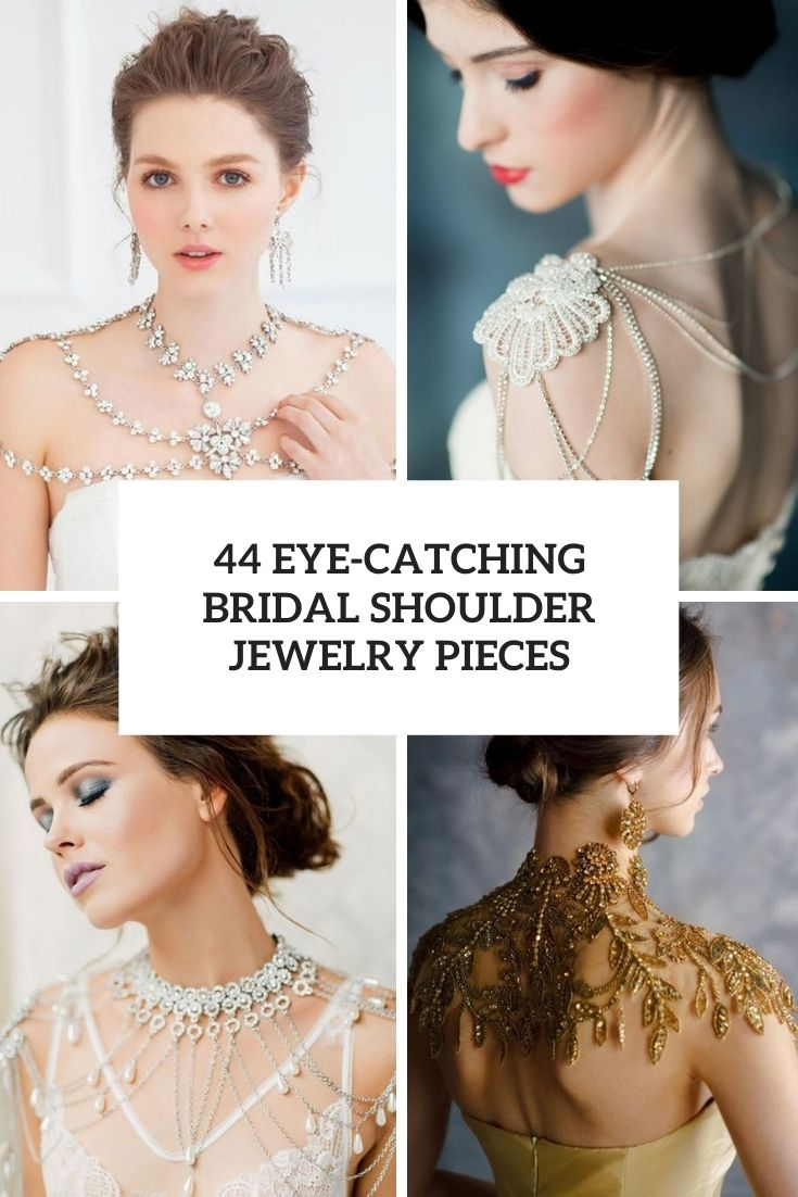 eye catching bridal shoulder jewelry pieces cover