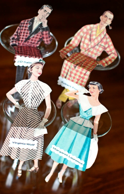 Adorable DIY Vintage Doll Place Cards For Your Wedding