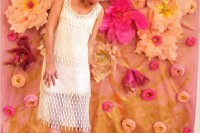 Colorful DIY Paper Flower Backdrop For Your Wedding10