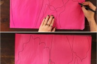 Colorful DIY Paper Flower Backdrop For Your Wedding3