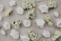 DIY Flower Girl Basket With Moss And Silk Flowers4
