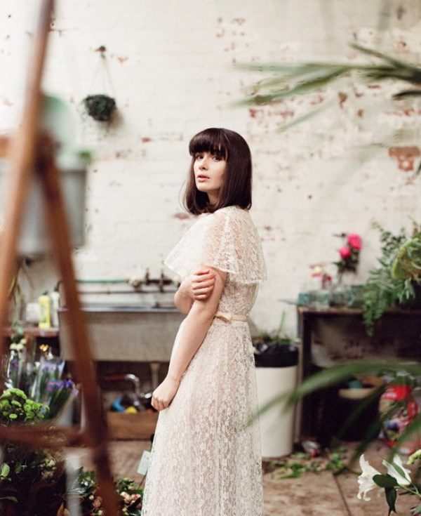 Botanical Meets Industrial Bridal Shoot At Glasshaus Nursery