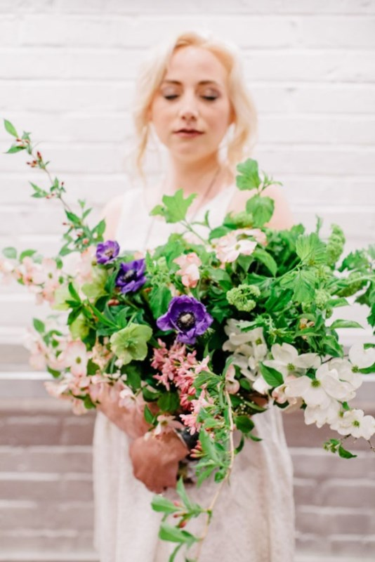 Casual And Intimate Coffeeshop Wedding Inspirational Shoot