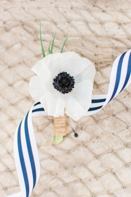 Charming Preppy Nautical Summer Wedding Shoot