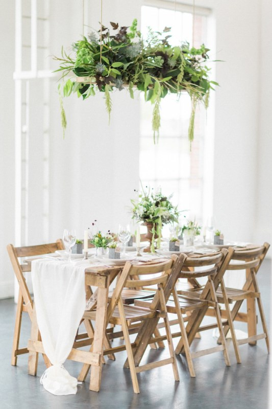 Elegant And Delicate Industrial Meets Rusic Wedding Inspiration